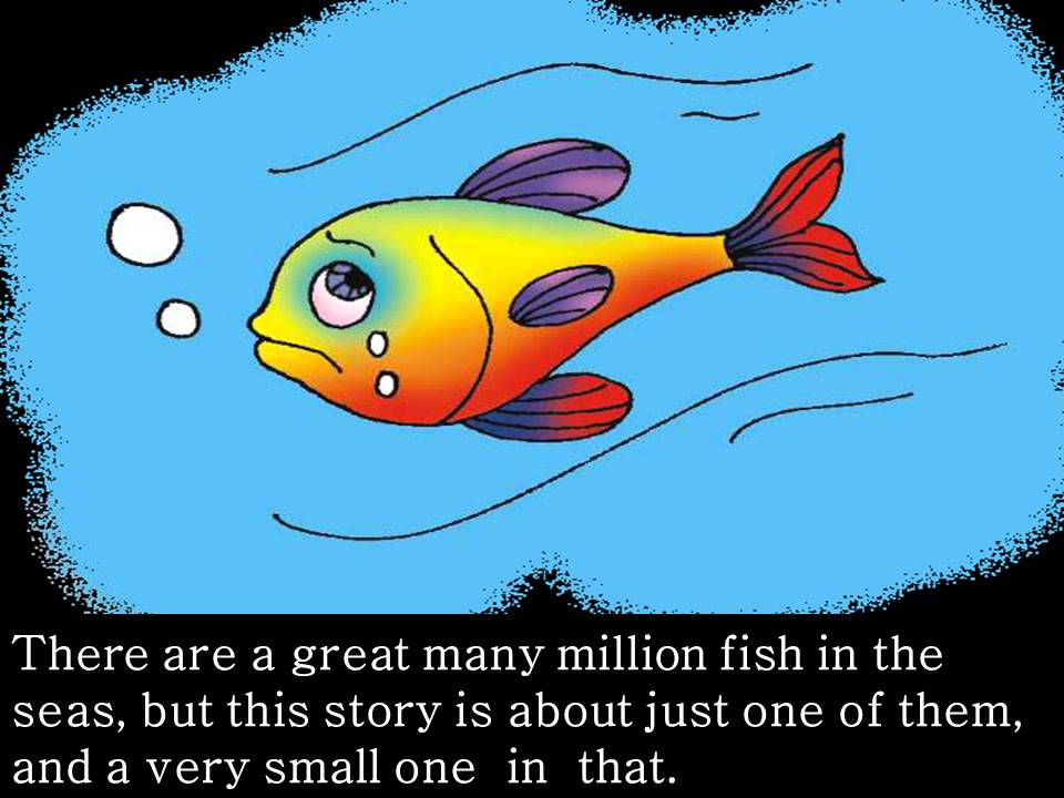 A little fish story youtube for One fish two fish red fish blue fish