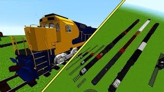 Minecraft Mods: NEU! KRASSE Züge & Technik - Immersive Railroading Mod