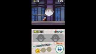 New Super Mario Bros. (E) - Mundo 4, Casa fantasma (Hinchaz�...