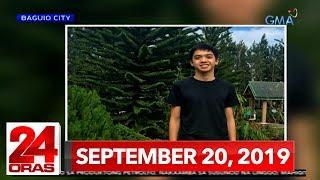 24 Oras: September 20, 2019 [HD]