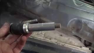 Замена сцепления ВАЗ 2108-15 не снимая полностью КПП