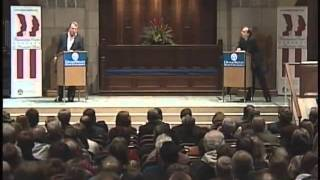 Christopher Hitchens v Peter Hitchens  GOD and WAR