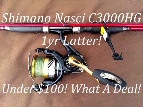 2016 Shimano Nasci C3000HG - 1yr Latter!
