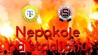 FK Teplice - AC Sparta Praha | NEPOKOJE NA STADIONU ! | 3.5.2014