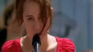 The Climb - Miley Cyrus - Oficial Ecena De La Pelicula