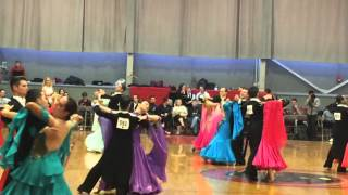 MIT Open Ballroom Competition 2016 Standard Novice Semifinals Waltz