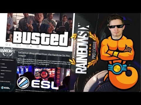 PRO PLAYER CAUGHT CHEATING IN PRO LEAGUE GETS BANNED BY ESL