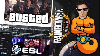 PRO PLAYER CAUGHT CHEATING IN PRO LEAGUE GETS BANNED BY ESL thumbnail