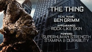 "Fantastic Four | ""The Thing"" Power Piece [HD] 