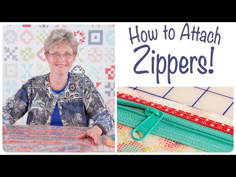 How to Install Zippers with ByAnnie and Fat Quarter Shop