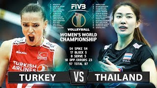 Turkey vs Thailand - Highlights | Women's World Championship 2018