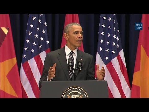 President Obama Delivers Remarks at the National Convention Center
