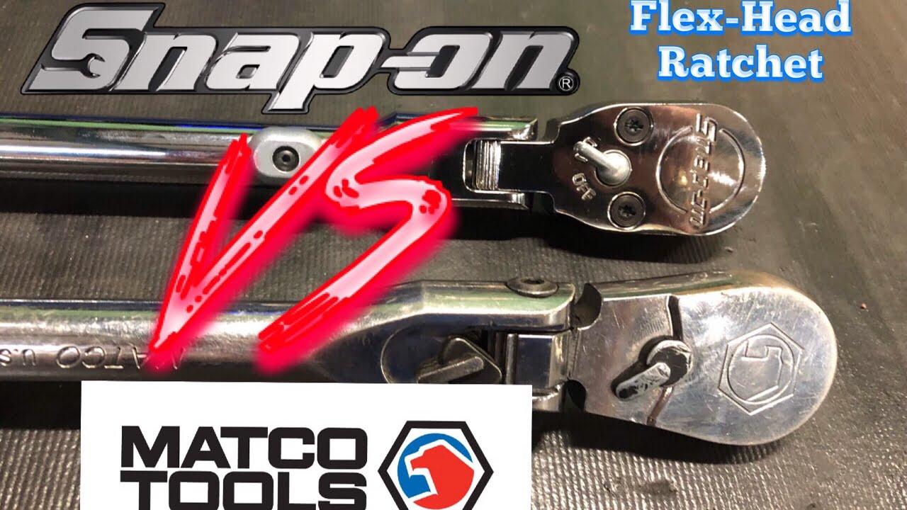 Snap On Vs Matco Ratchets Side By Side Youtube
