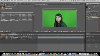 Green screen and Color Correction in After Effects CS5.5