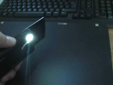 Samsung i8510 Innov8 working flashlight torch LED Taschenlampe