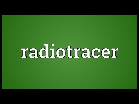 Header of radiotracer