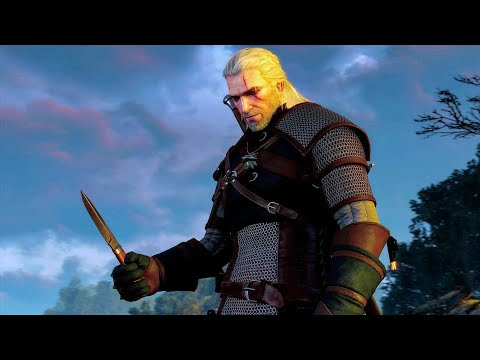 The Witcher 3 - Geralt of Rivia The White Wolf! Cannot be hurt by a mere beast! thumbnail