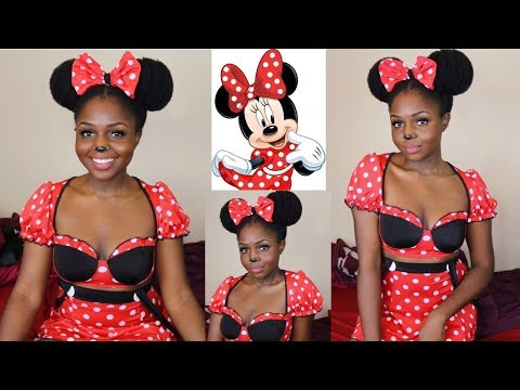 MINNIE MOUSE HALLOWEEN COSTUME ft UncleFunkysDaughter