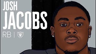 Welcome to the bay Josh Jacobs highlights    Lil Tjay brothers