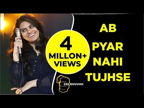 Ab Pyar Nahi Tujhse | Jasmine Arya | Love Poetry | Deeshuumm