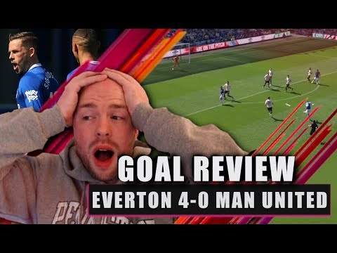 Everton 'DESTROY' Manchester United!! Everton 4-0 Manchester United Goal Review