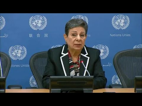 Palestine Liberation Organization on situation in Gaza & other topics - Press Conference