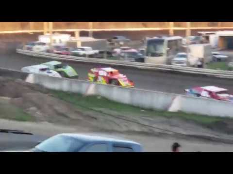 Hamilton County Speedway 4-20-19 Heat Race