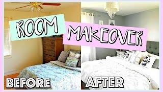 AFFORDABLE ROOM MAKEOVER Before & After | Belinda Selene