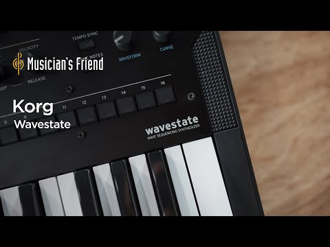 Korg Wavestate Demo with Mikael Jorgensen - All Playing, No Talking
