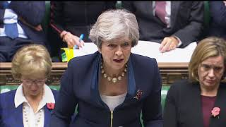 Prime Minister\'s Questions: 1 November 2017