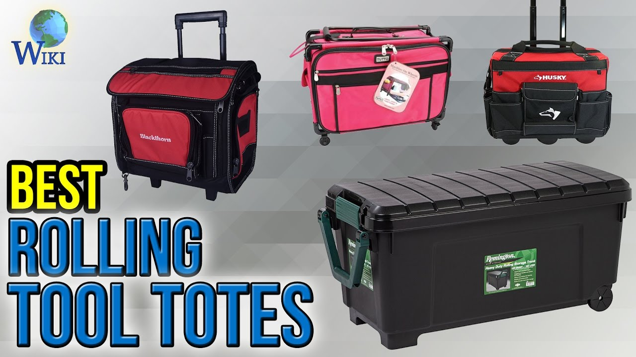 8 Best Rolling Tool Totes 2017