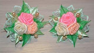 Rosas elásticas para o cabelo