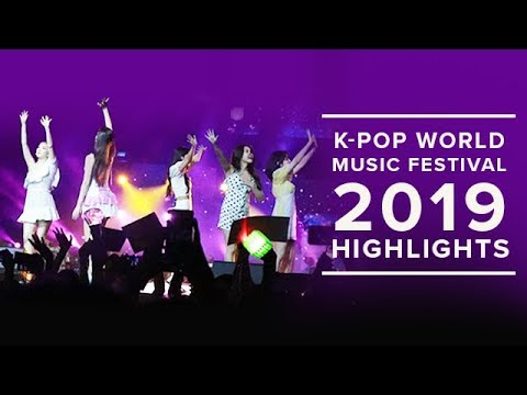 K-POP World  Festival 2019  Highlights