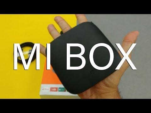A MELHOR ANDROID TV!? - UNBOXING MI BOX 3