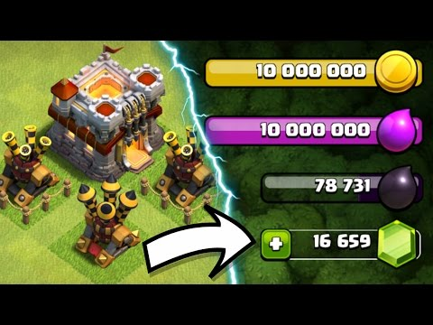 GEM THEM ALL!! - Clash Of Clans - MAX THAT BASE!!