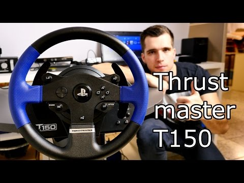 Best Cheap Racing Wheel for PS4 / PS3 / PC - Thrustmaster T150 Review [4K]