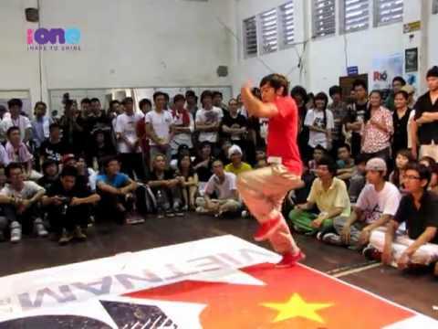 Những màn hiphop cực đỉnh ở vòng loại R16 Việt Nam 03