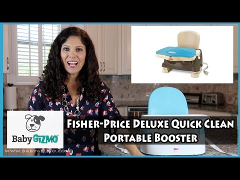 Fisher Price Deluxe Quick Clean Booster