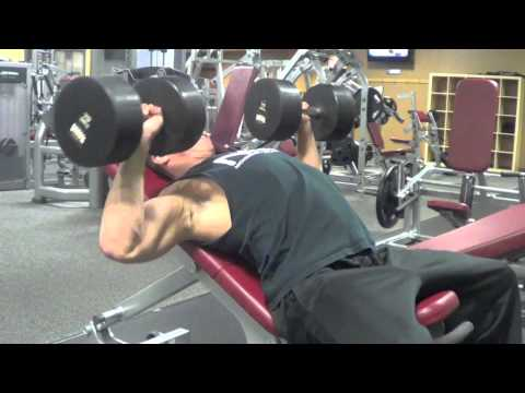 Incline Dumbbell Press - Upper Chest - Nick Wright