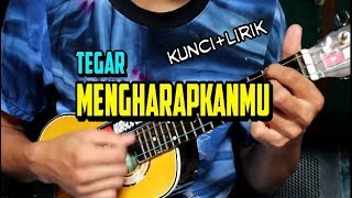 MENGHARAPKANMU-TEGAR (KUNCI+LIRIK) COVER KENTRUNG