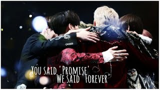 『FMV』BTS (방탄소년단) || You said 'Promise', We said 'Forever'