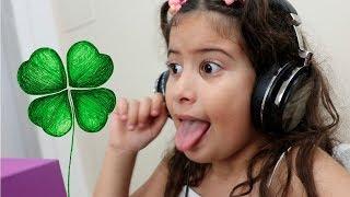 Maria Clara cantando Trevo de 4 folhas - ANAVITÓRIA (Tu)