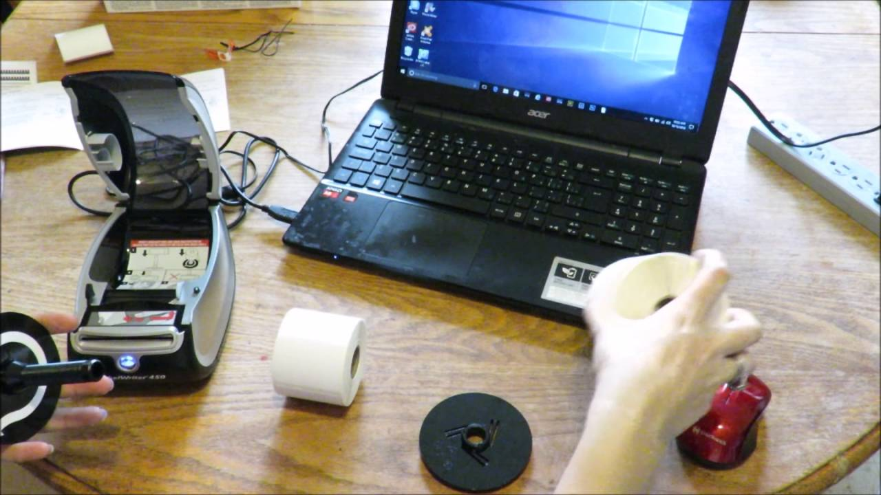 Setting up & using the DYMO labelwriter 450