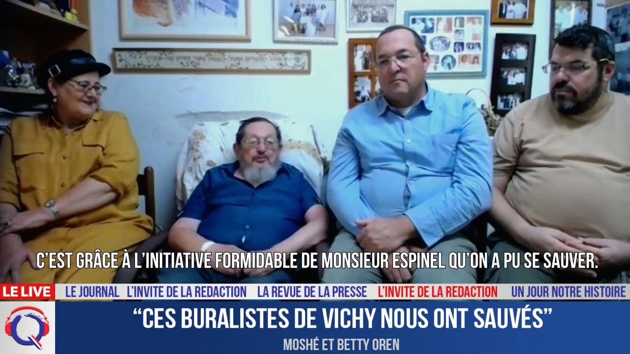 """""""Ces buralistes de Vichy nous ont sauvés"""" - L'invité du 19 juillet 2021"""
