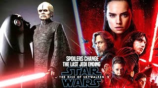 The Rise Of Skywalker Spoilers Change The Last Jedi Ending! (Star Wars Episode 9)