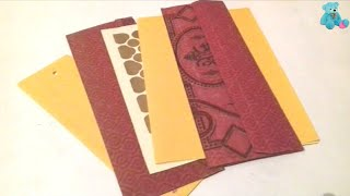 शादी के कार्ड से फूल बनाना सीखें