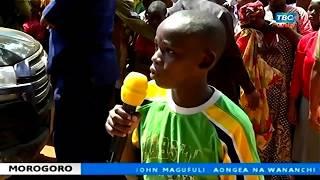 Rais Magufuli Atoa Milioni 3 Kwa Mtoto Huyu, Morogoro