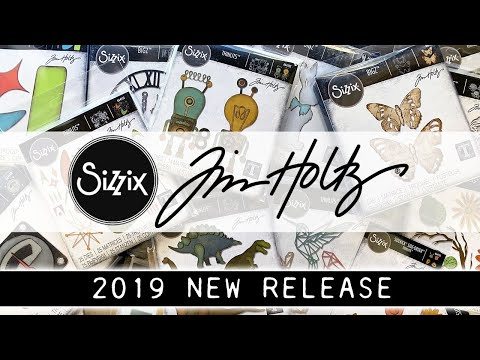 Tim Holtz 2019 SIZZIX CHAPTER 1