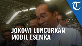 RESMI: Presiden Jokowi Luncurkan Mobil Esemka
