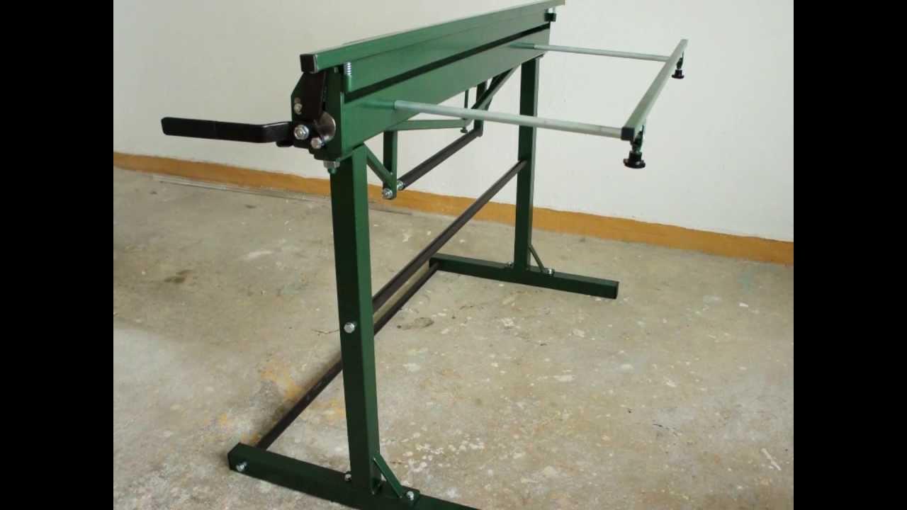 Lightweight Floor Standing Hand Operated Sheet Metal